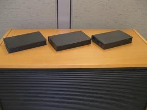 Three Boring VHS Cases