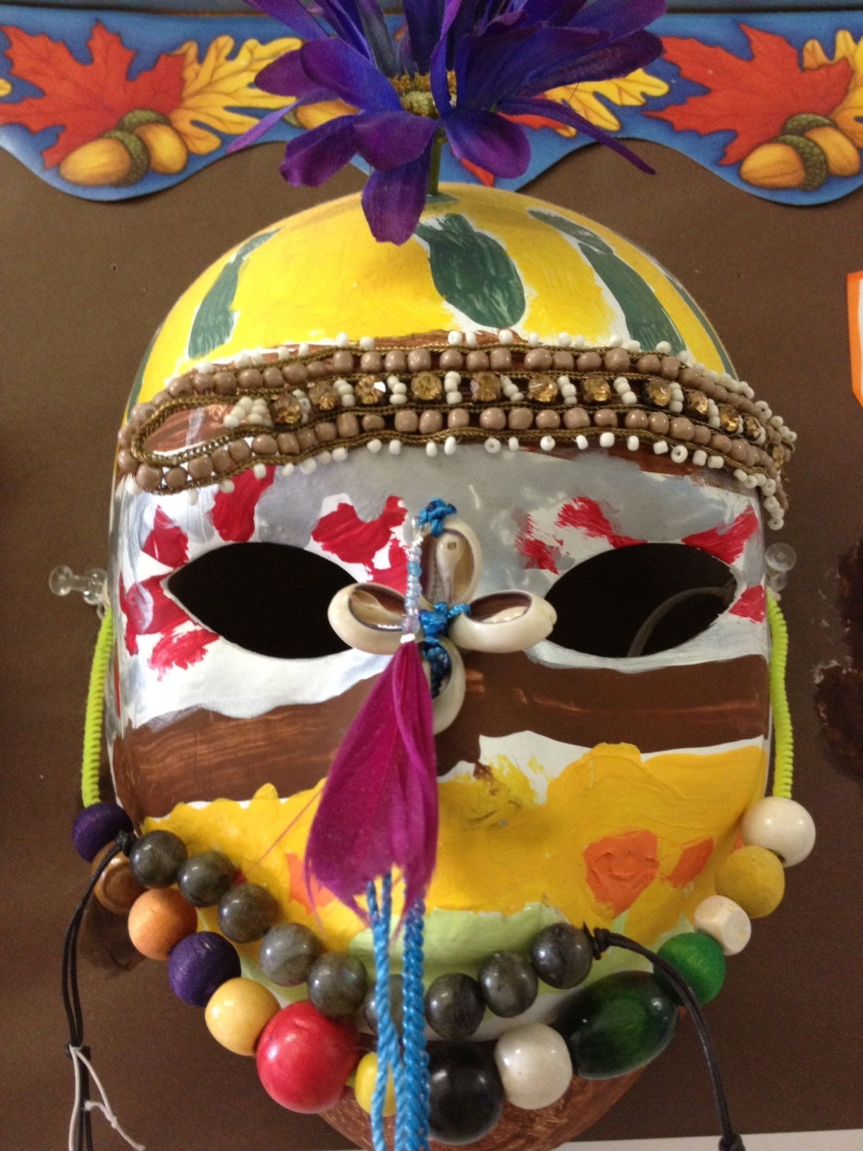 Masks and fractions | Materials for the Arts