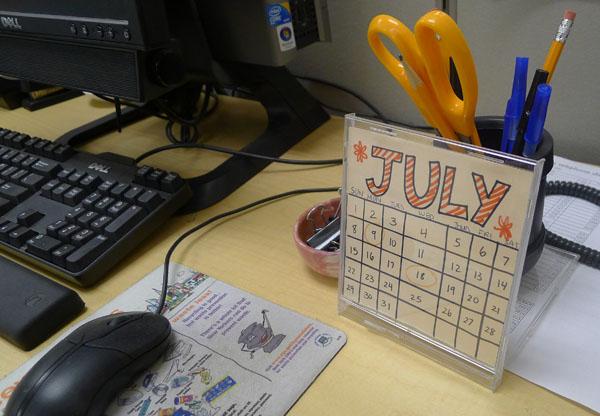 Diy Project Cd Calendar Materials For The Arts