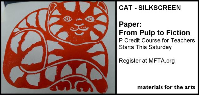 Last Chance Paper Cat Silkscren
