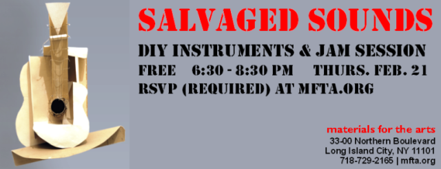 Salvaged Sounds  2.21.2012 Web Graphic